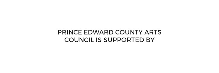 Prince Edward County Arts Council is Supported by