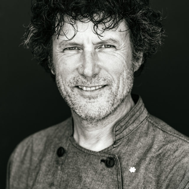 Chef Jamie Kennedy photographed at his farm in Prince Edward County.