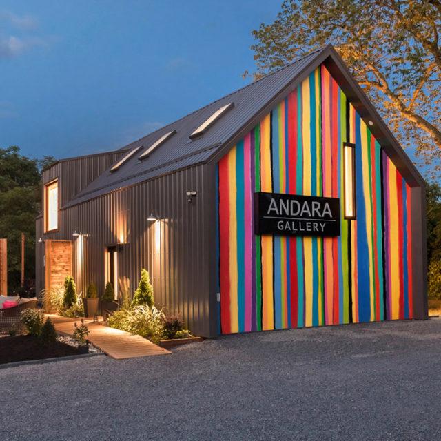 ANDARA Gallery - Photo Credit © Daniel Vaughan (vaughangroup.ca)