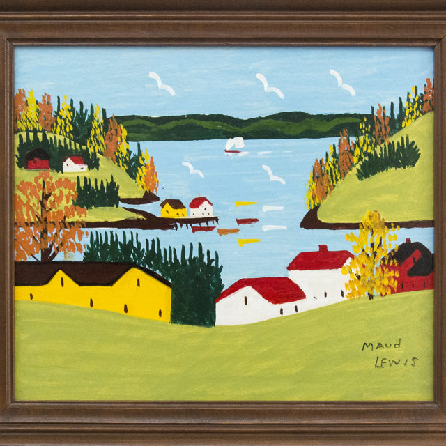 Sandy Cove by Maud Lewis