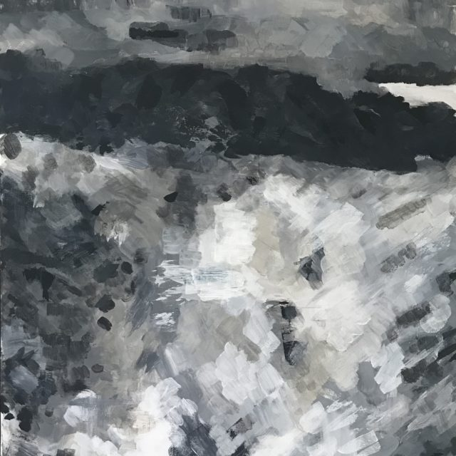 Untitled, acrylic on canvas