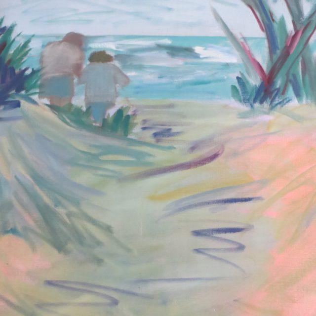 Path to the Beach - Acrylic on canvas
