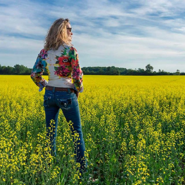 Canola Field Summer Magic in The County!