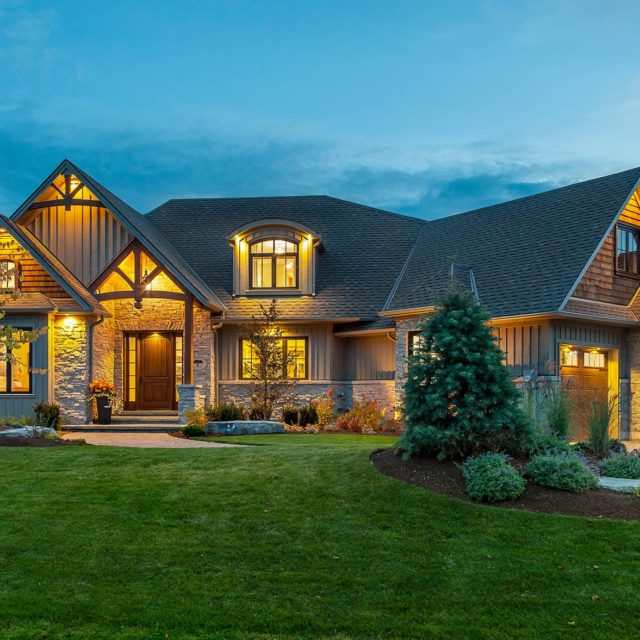 One of our commercial shots of this beautiful award winning home by Tobey Developments in Trenton.