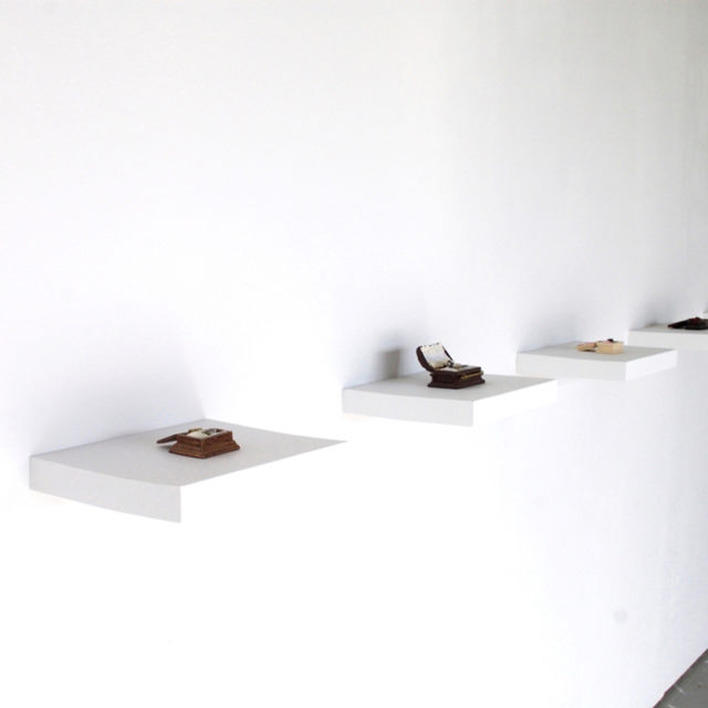 Bug coffin collection (installation view)