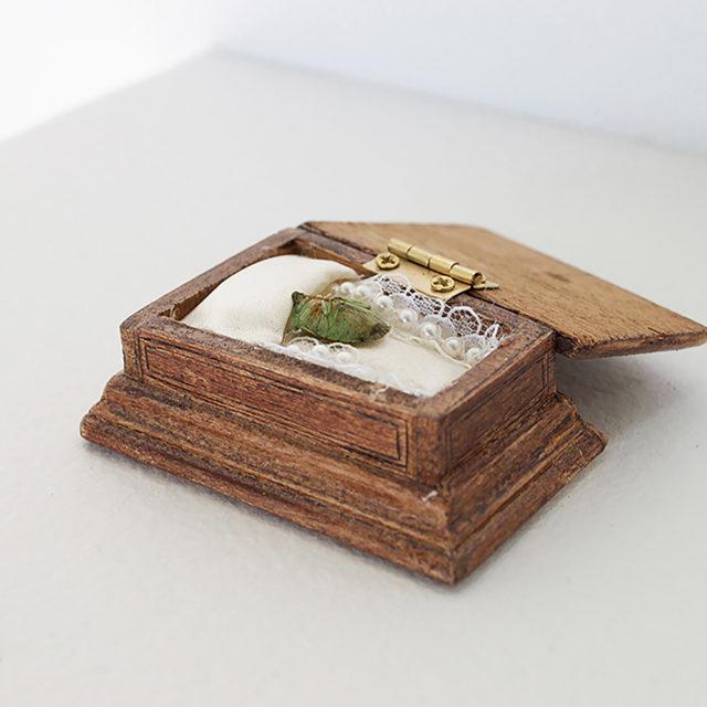 Bug coffin collection (green bug)