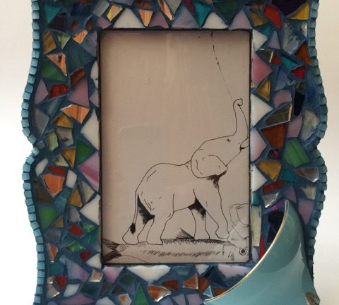 Learn mosaic art- Picture Frame