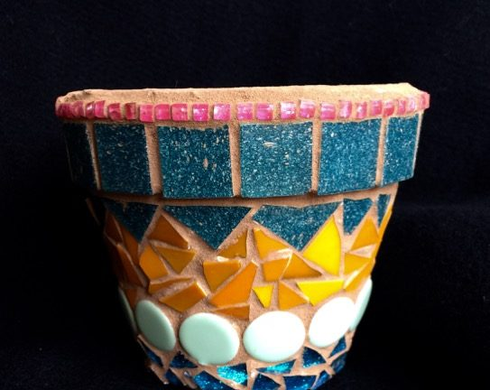 Learn Mosaic Art – Planter