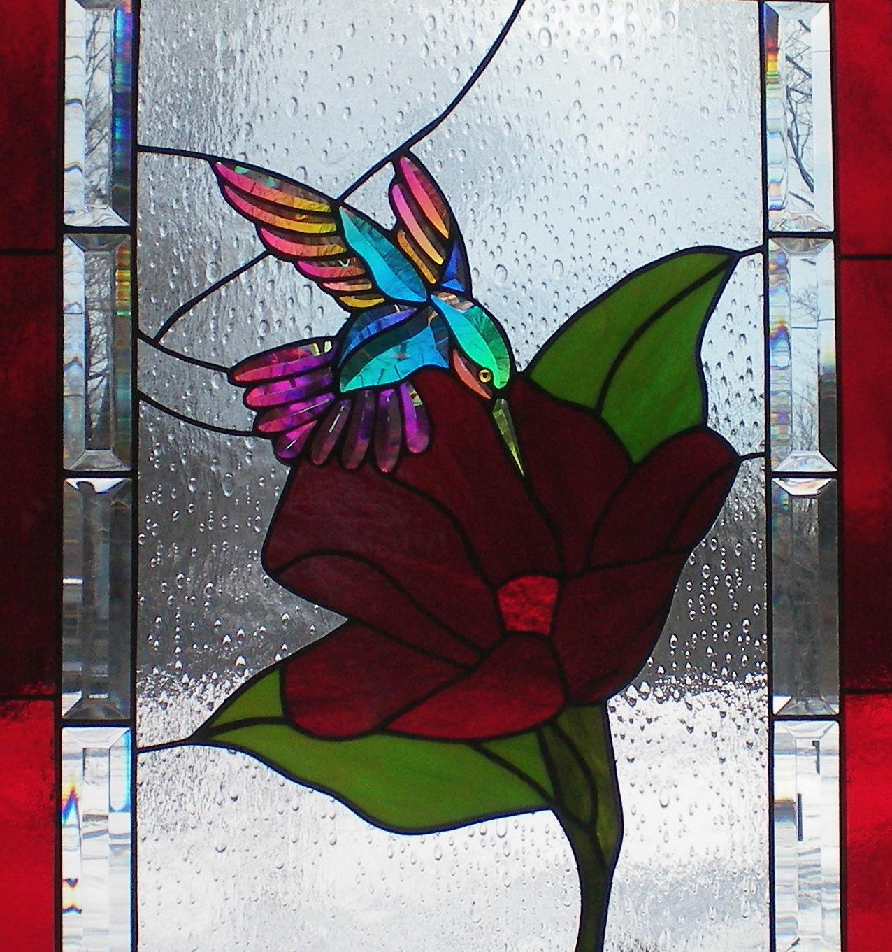 Dichroic Hummingbird