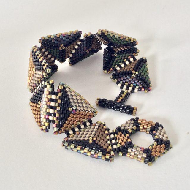 Flat Triangle Bracelet