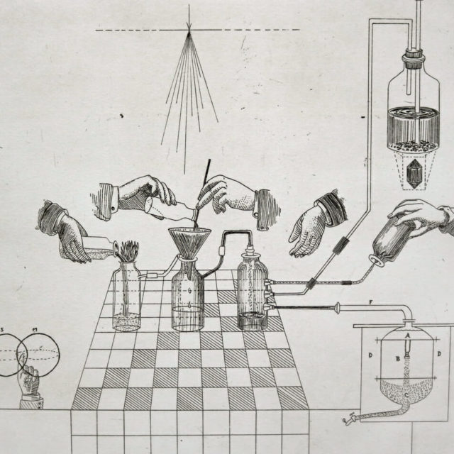 Chemistry by Kyle Topping, Etching