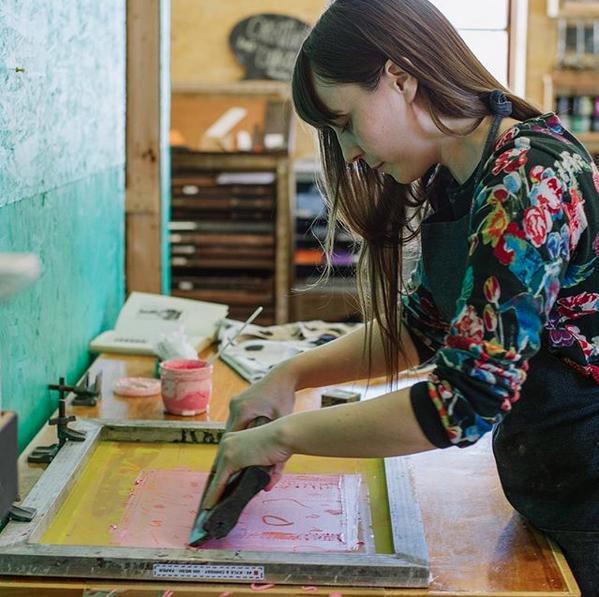 Chrissy Poitras, Printmaker