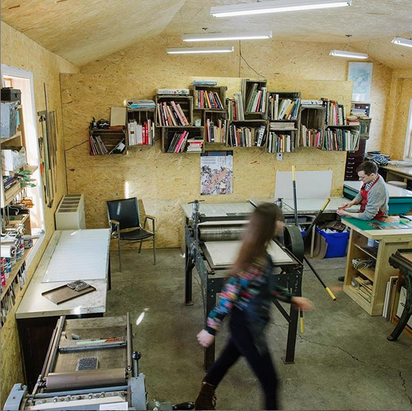 Print Shop at Spark Box Studio