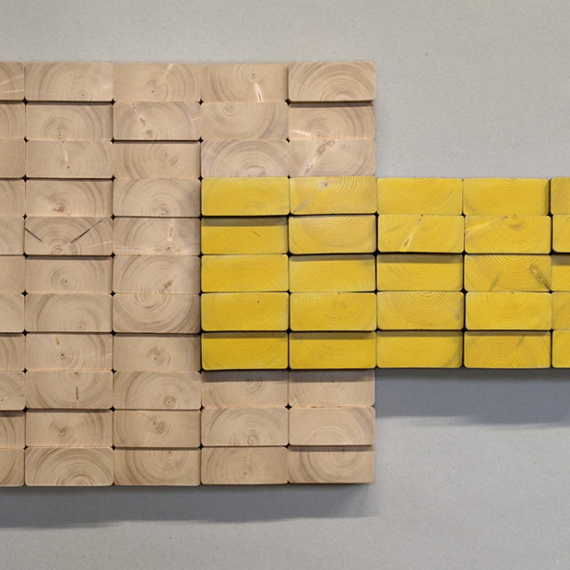 2x4xyellow break (71 x 43 cm)