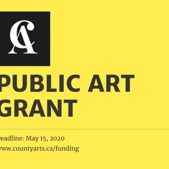 Public Art Grant