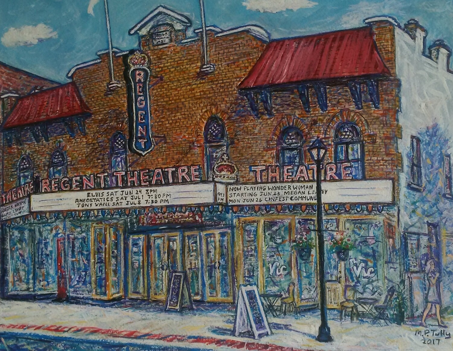 Regent Theatre in the Summer, Currently part of Art in the County