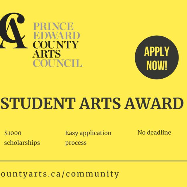 Student Arts Award