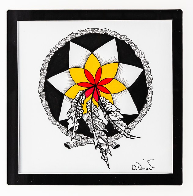 Indigenous Dreams, Pen & Ink