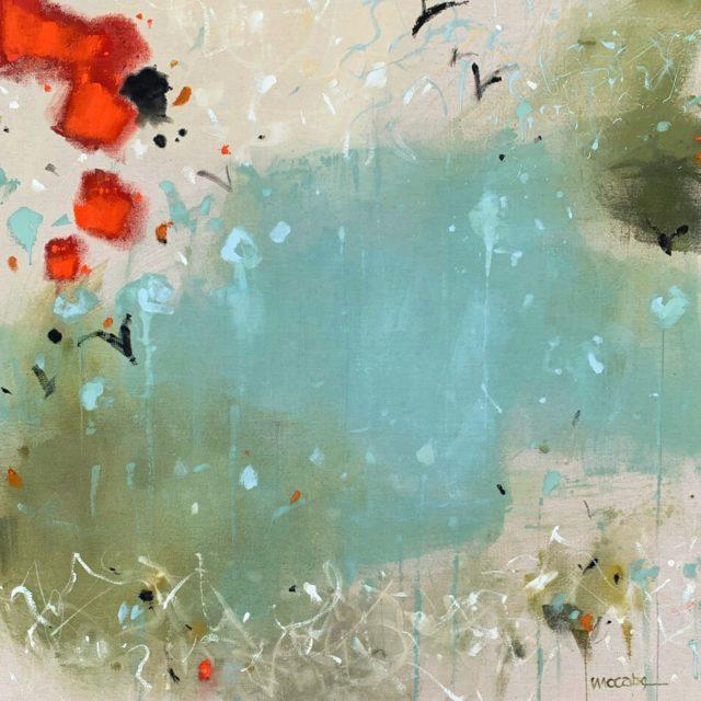 Raison d'être by claudia jean mccabe, Colours in the Buff collection