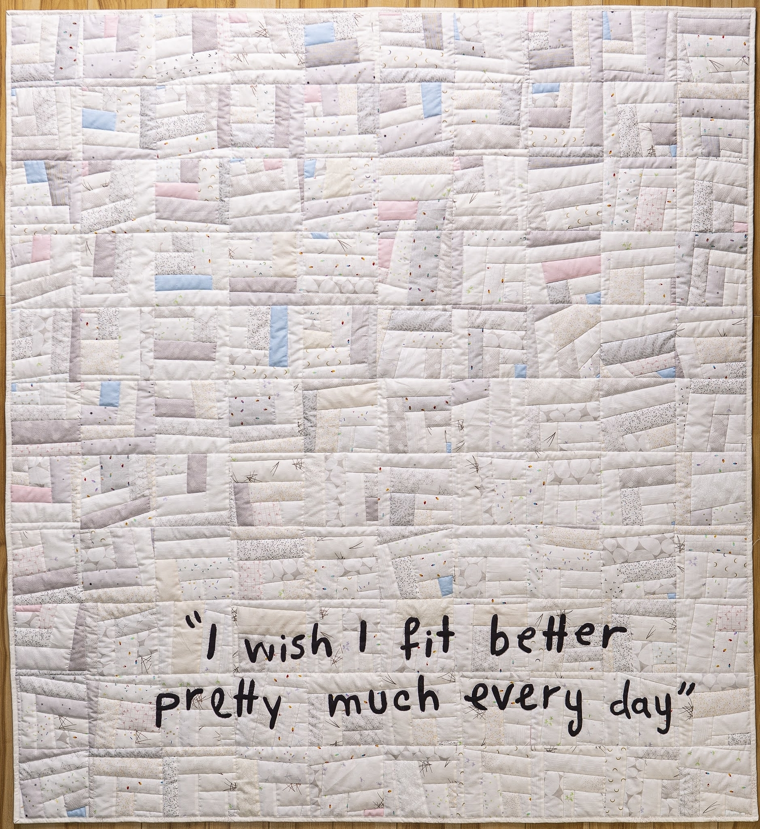 I wish I fit better pretty much every day by Bill Stearman, 2020