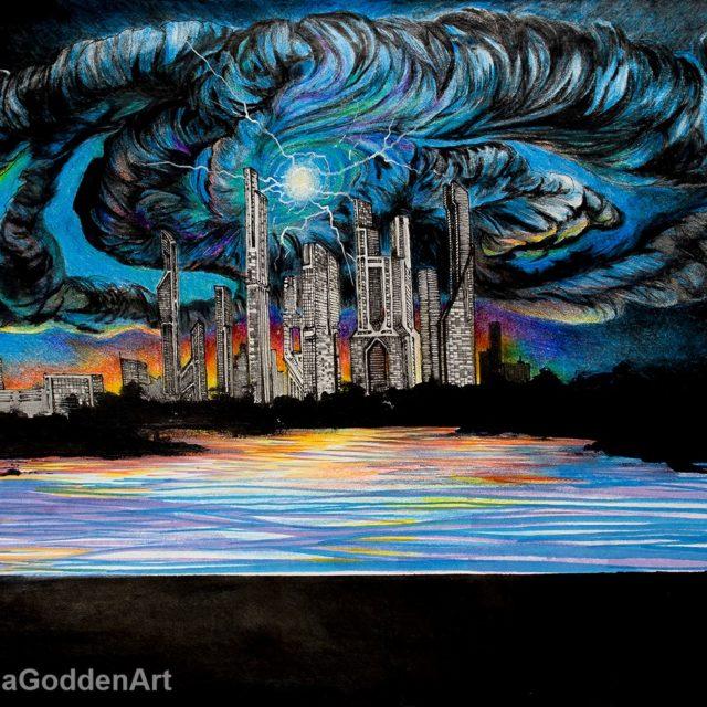 Dream Storm by Briana Godden, illustration, 10.6
