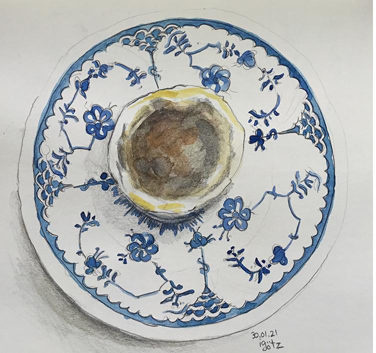 Butter Tart by Irene Götz