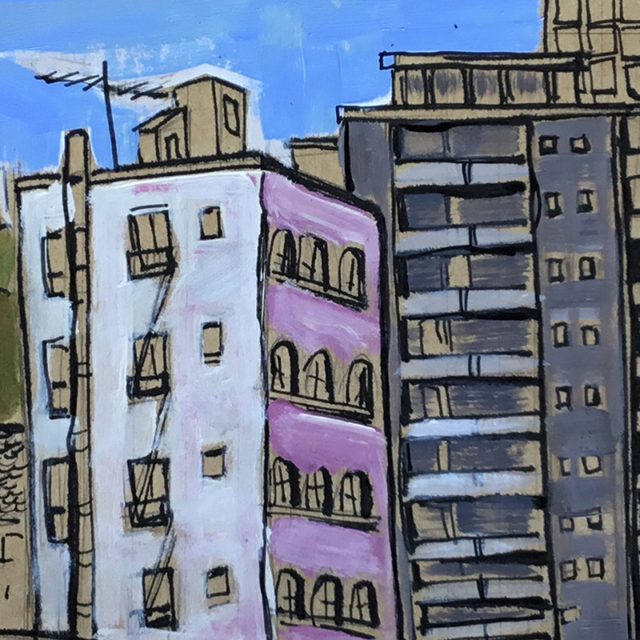 From the Balcony by Irene Götz