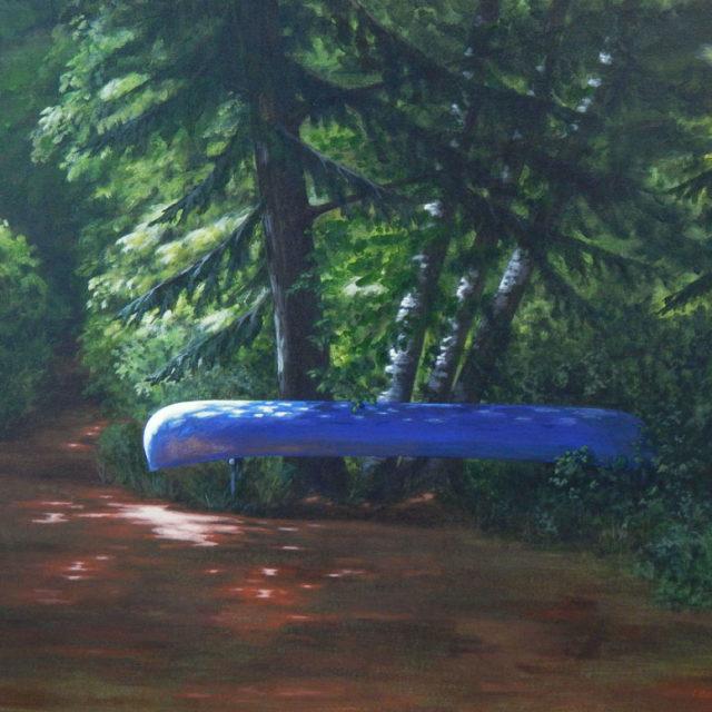 The Day Awaits by Ian Beveridge, acrylic on canvas