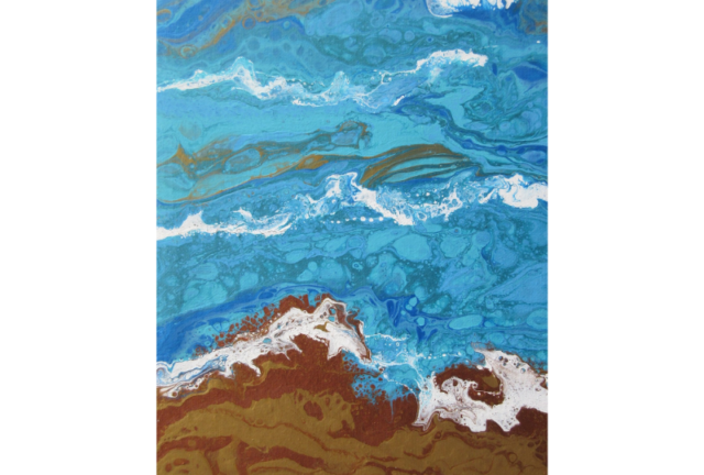 Acrylic Pouring with Sheila Wright