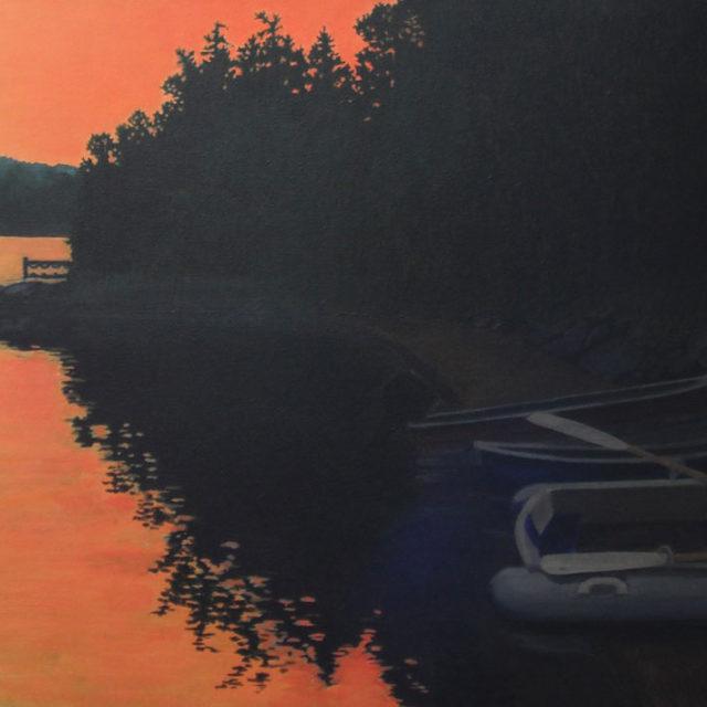 Paugh Sunset by Ian Beveridge