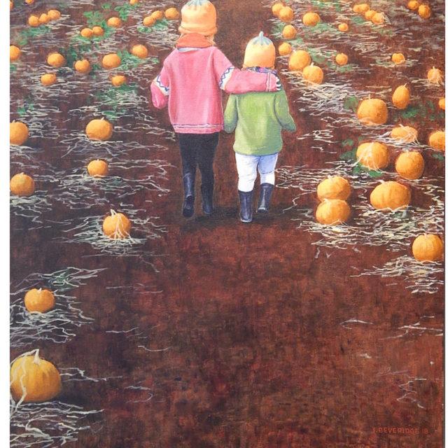 Pumpkin Patch by Ian Beveridge